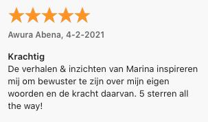 Marina de Haan podcast